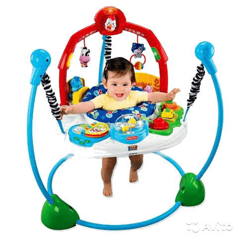 Прыгунки Fisher price Ферма